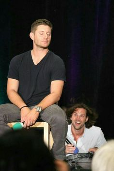 Look at how pure Jared's face is!!!