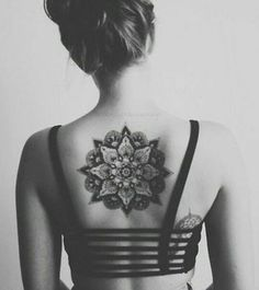 cool, art and nice image on We Heart It #tattooswomensback