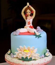 Yoga Cake 8500 8 Sweet TreatZ by Dana Pinterest Yoga