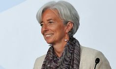 Christine Lagarde- French economy, industry, and employment minister- former lawyer in the US- amazing woman