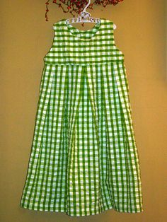 Oliver +s Music Box Jumper in Green Gingham, View A by thejennigirl, via Flickr