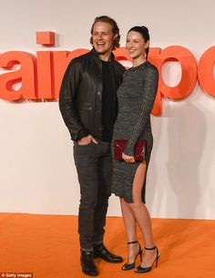 They play on-screen partners Claire Beauchamp Randall/Fraser and Jamie MacKenzie Fraser on hit time travel series Outlander.