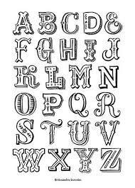 Image result for hand lettering alphabet
