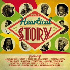 VARIOUS - Heartical Story Vol 2 (Front Cover)
