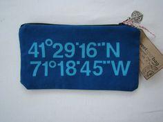 Newport Folk Festival - Sun Print Longitude Latitude Bag