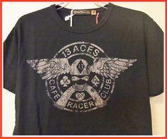 【楽天市場】【全国送料無料】Johnson Motors Inc.【ジョンソンモータース】13 ACESJET BLACKトップス/Tシャツ/プリント/ブラック/ヴィンテージ/アメリカ/バイカーズ/インポート/スカル/黒/【楽天●メンズF】/【メンズファッション】/:SUSAN and WILLY