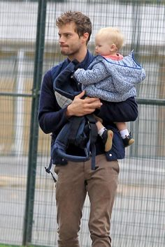Jamie Dornan and daughter Dulcie in Start-rite Pre-walkers Harry. Vin Diesel, Paul Walker, Dulcie Dornan, Cristian Grey, Luke Grimes, Mr Grey, After Life, Celebrity Dads, Fifty Shades Of Grey