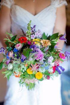bouquet pour un mariage en été