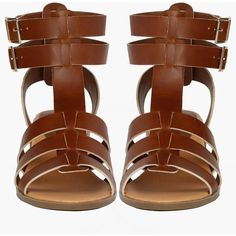 Alva Sandal ($30) ❤ liked on Polyvore featuring shoes, sandals, heeled sandals, double buckle sandals and two buckle sandals
