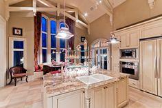 Love the tall windows to kitchen ratio