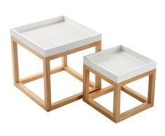 "Sada 2 stolků ""Ava"" Home Living, Living Room, Decoration, Ideas Para, Armchair, Decorative Boxes, Design, Home Decor, Cofee Tables"