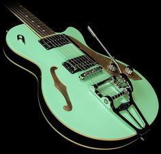 Duesenberg Starplayer TV Electric Guitar Surf Green | The Music Zoo
