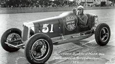 Al Gordon driver and Louis Webb riding mechanic