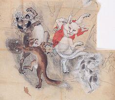 東京・丸の内で、英国人も愛した幕末明治のスター絵師・暁斎と弟子コンドルの展覧会の写真8