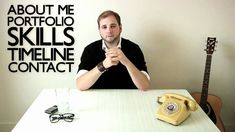Videocurriculum interactivo de Graeme Anthony