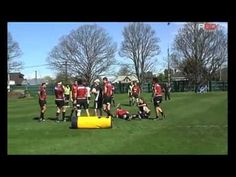 R80 Rugby Coaching Ruck Defence Drill with Scott Robertson - YouTube