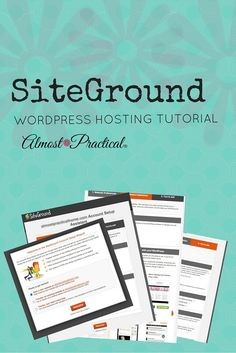 wordpress resources siteground