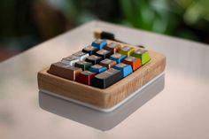 Wooden Mechanical Numpad Keyswitch Tester