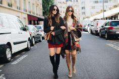 Brittany Xavier and Michelle Madsen, Twinning