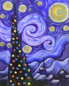 Starry Christmas Night