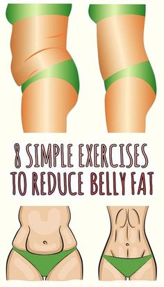 8 Simple Exercises to Get Rid of Belly Fat.