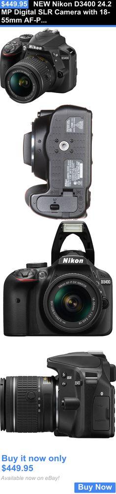 Camera Photo: New Nikon D3400 24.2 Mp Digital Slr Camera With 18-55Mm Af-P F/3.5-5.6G Vr Lens BUY IT NOW ONLY: $449.95