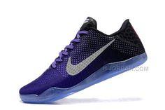 online retailer 090c5 a44d8 2016 Nike Kobe 11 XI Elite Low Mens Basketball Shoes Hyper Grape Black University  Gold White Sneakers 822675-510