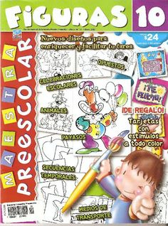REVISTA FIGURAS 10 (FEBRERO 2007) - Srta Lalyta - Álbuns Web Picasa Web Gallery, Album, Kindergarten, How To Plan, School, Editorial, Paper, K2, Clipart