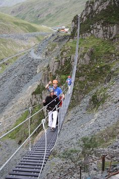 This is the infinity bridge at Honister mine in Borrowdale! Cumbria, Lake District, Places To See, New Experience, Scotland, Infinity, British, Bridges, Outdoor Decor