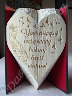 Your Wings Were Ready Combi Cut and Fold Book Folding Pattern