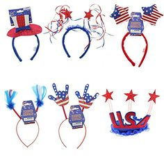 Patriotic Red White and Blue fourth o…