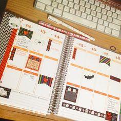 Planning next week in my #erincondren not much so far  have a great weekend!!!!!! #planner #plannergeek #plannergirl #plannerlove #planneraddict #erincondren #erincondrenlifeplanner #stickers #printables #colorgelpens by prettyfiloplanner