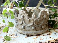 Stone crown for my garden...