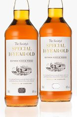 Litre of The Society's Special 16 Year Old Blended Scotch Whisky