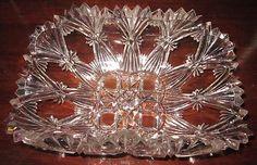 EAPG 1887 Jones Cavitt & Co #128 AKA Cavitt star Cross, Canadian Rectangle Bowl