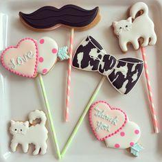 pretty cookie pops ♡