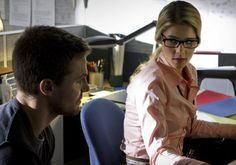 Arrow has promoted Felicity Smoak (Emily Bett Rickards) to a series regular for the just-ordered Season 2.