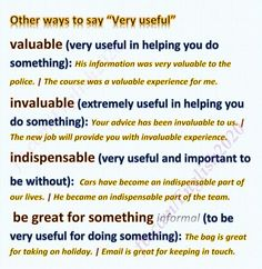 Other ways to say VERY USEFUL#learnenglish