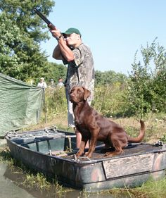 Go Duck hunting with my Lab