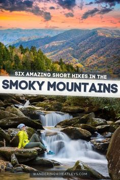 Cool Places To Visit, Places To Travel, Travel Things, Travel Destinations, Great Smoky Mountains, Smoky Mountains Hiking, Smoky Mountains Tennessee, Tennessee Vacation, Gatlinburg Tennessee