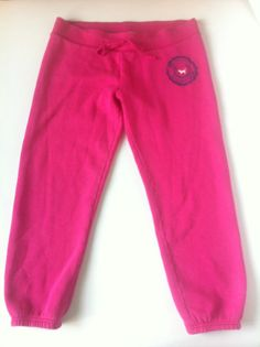 81e96cc8a8  victoriassecret VS Pink Favorite Sweats Sleep Lounge Capri Pants Size  Medium M - SOLD