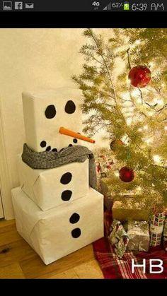 A fun way to wrap gifts! :)
