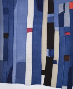 A Gees Bend African American patchwork quilt. - Sally Campbell, Handmade Textiles - News Gees Bend Quilts, African Quilts, Quilt Modernen, Contemporary Quilts, Quilt Making, Quilting Designs, Quilting Projects, Textile Art, Quilt Blocks