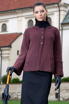 my work pattern available here - beautiful knitting