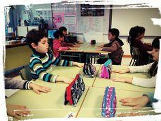 BAILAR RESPIRACIONES: Práctica de mindfulness en movimiento. Respirar y bailar haciendo una coreografía. Para niños de Infantil y Primaria