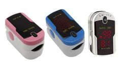Fingertip Pulse Rate Oximeter with Case and Neck/Wrist Cord Was: $199 Now: $17.99.