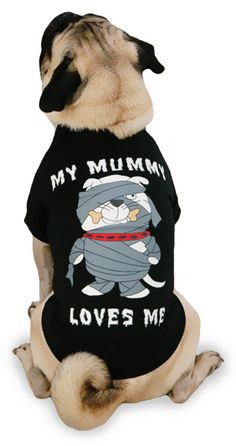 casual canine my mummy loves me tee xsmall pet halloween costumes