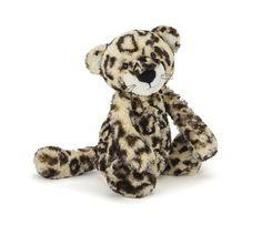 "Jellycat Bashful Leopard Medium 12"""""