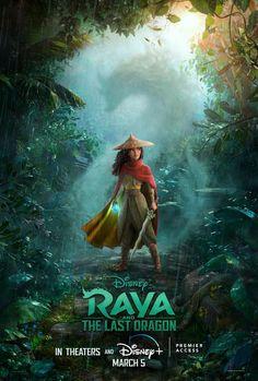 Raya and the Last Dragon Movie Poster Quality Glossy Print Photo Wall Art Kelly Marie Tran Disney Si