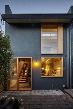 1970's townhouse in Melbourne, Australia /Thomas Linwood Architecture